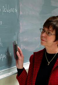 chalkboard professor